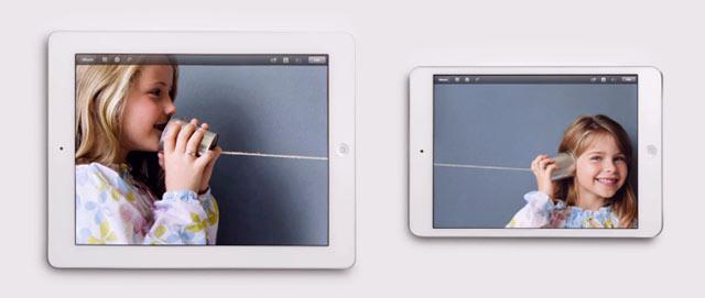 Apple iPad Mini Foto spot TV