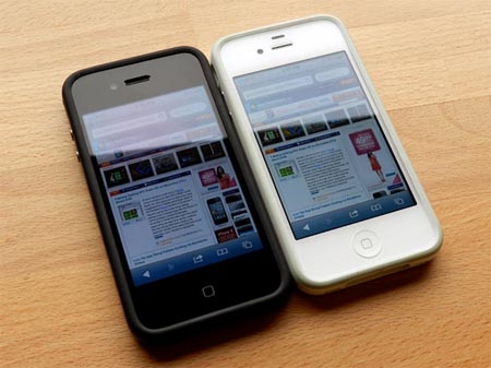 Apple iphone 4S iPhone 4 confronto