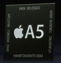 Apple iPhone 4S CPU A5