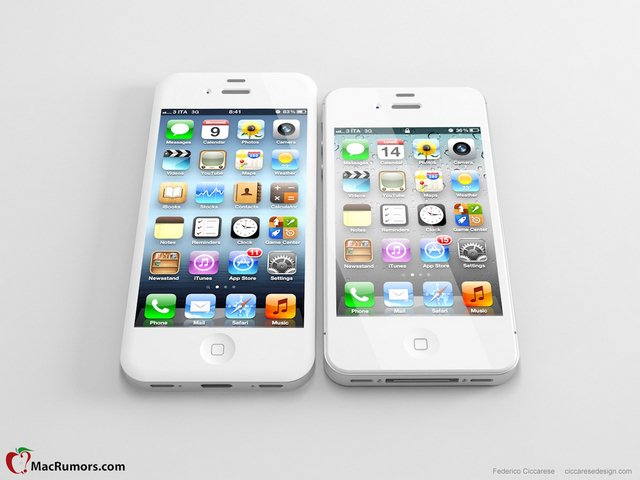 how to play videos from iphone to tv apple iphone 5 nuova immagine di mockup con display da 4 20941
