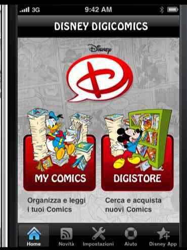 Disney su iPad