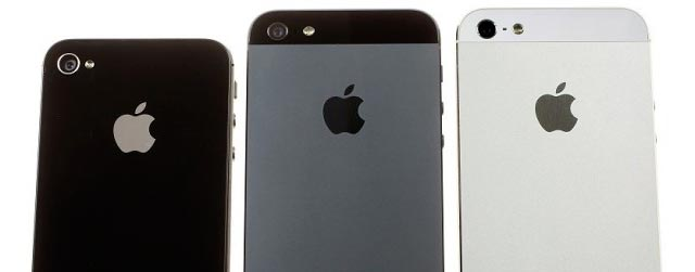 Apple iPhone 4, iPhone 4S, iPhone 5