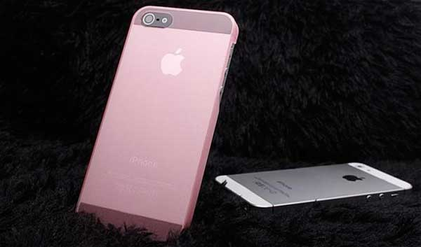 Apple iPhone rosa