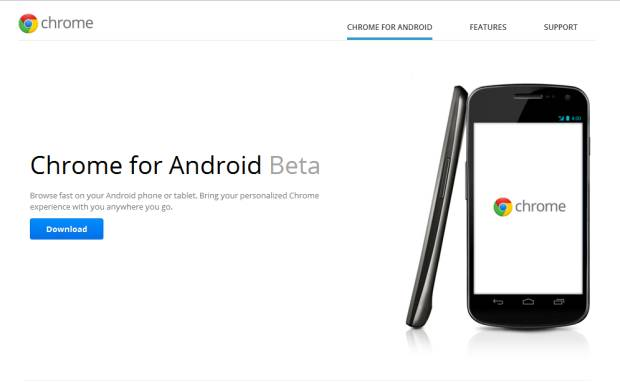Google Chrome per Android