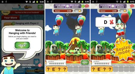 Recensione Applicazione Hanging With Friends Giochi Android V 21
