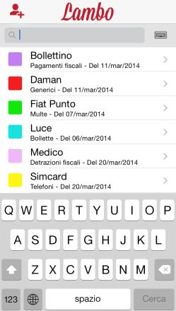 Lamp App per Android e iOS