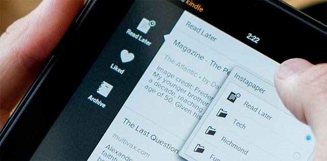 Instapaper per Android