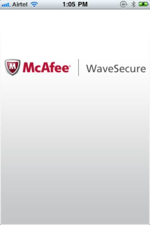 McAfee WaveSecure iOS Edition
