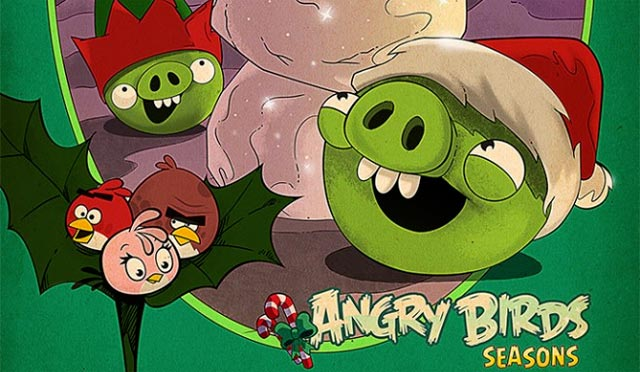 Angry Birds Season inverno 2012