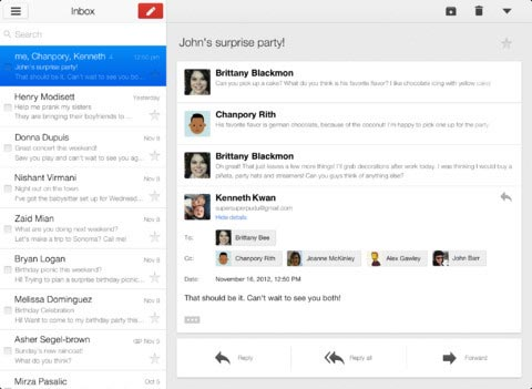 Gmail iOS 2.1