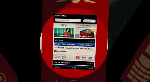 Opera Mini 7 Smart Page