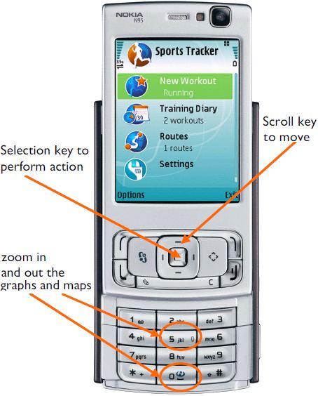 nokia gps tracker recensione applicazione nokia sports Nokia 5300 Nokia 5800 Games