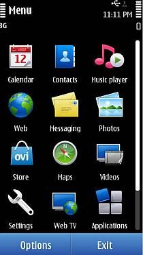 Symbian Anna Screen