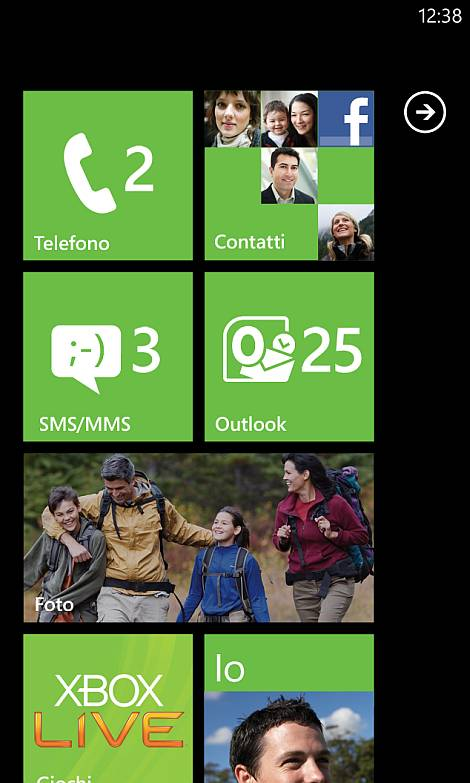 Windows Mobile 7 Start