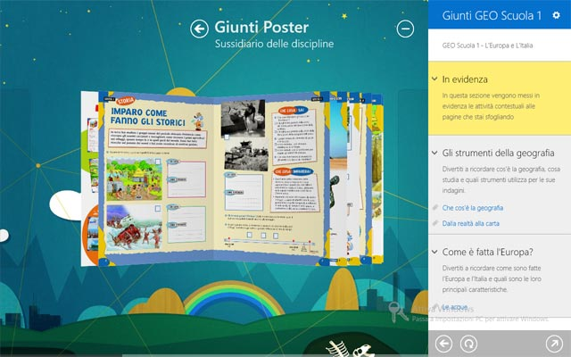 Giunti app Poster