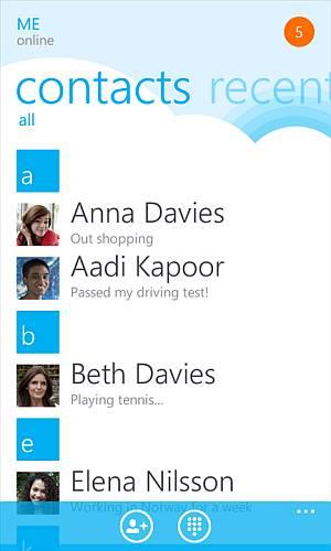 Skype WP