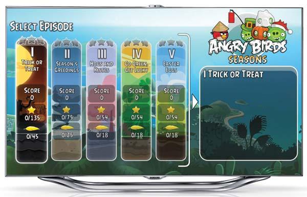Angry Birds Smart TV