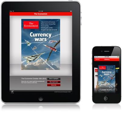 The Economist iPhone