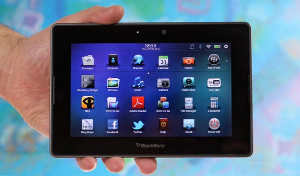 Blackberry Playbook v2.1