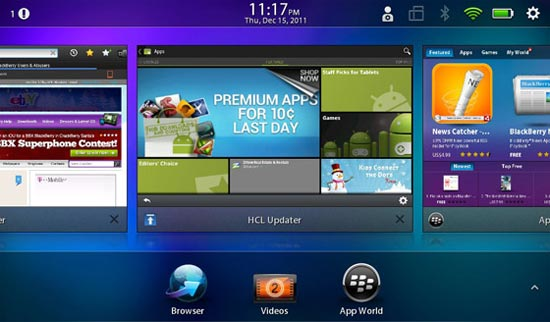Blackberry Playbook Android Market