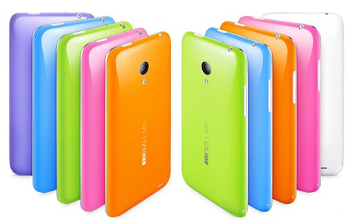 Meizu MX 3 colori disponibili
