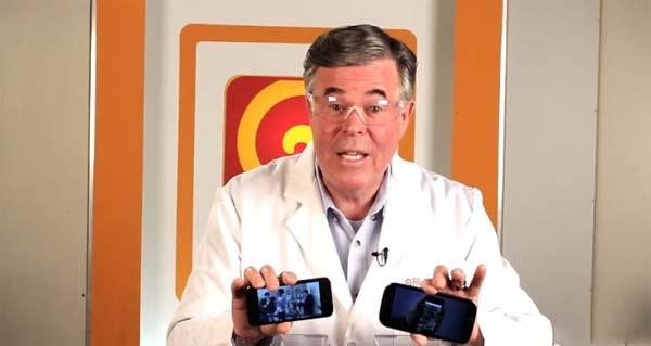 Apple iPhone 5 Samsung Galaxy S3 frullati
