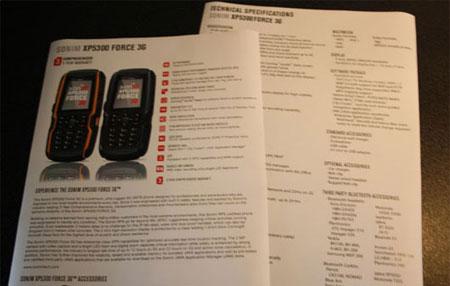 Sonim XP3500 FORCE 3G