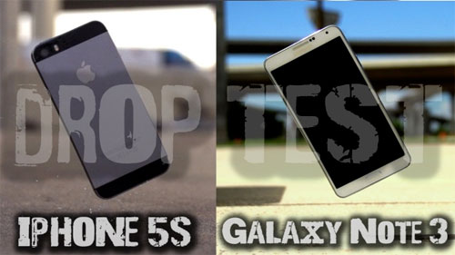 Apple iPhone 5s e Samsung Galaxy Note 3