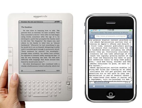 Kindle e Kindle per iPhne