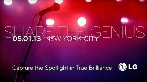 LG evento New York 1 Maggio 2013