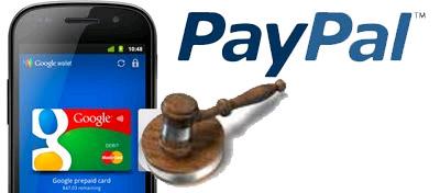 Paypal denuncia Google