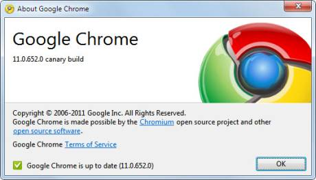 Google Chrome 11 Beta