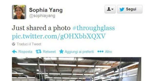 App Twitter per Google Glass