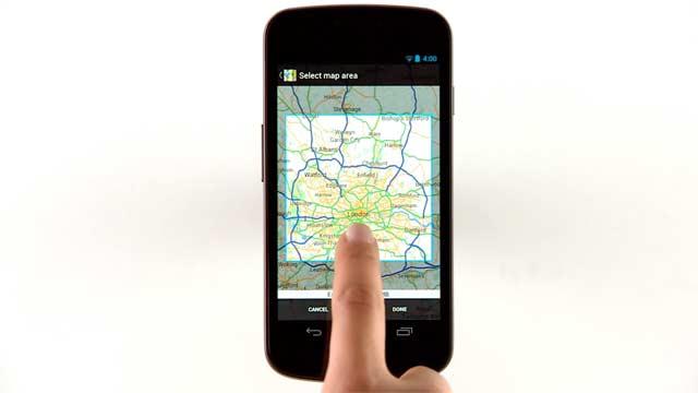 Google Maps Android Giugno 2012