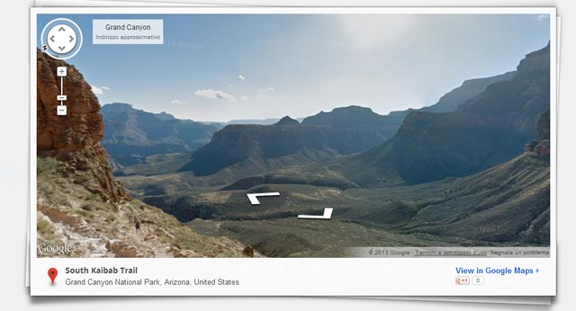 Google Maps Grand Canyon
