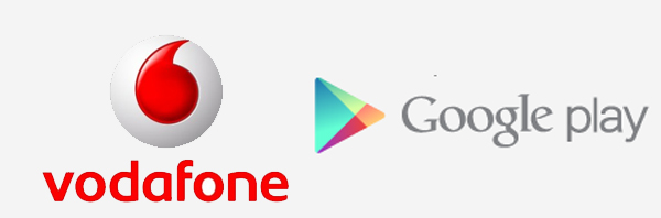 Vodafone Google Play Store