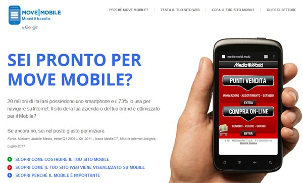 Google Move Mobile
