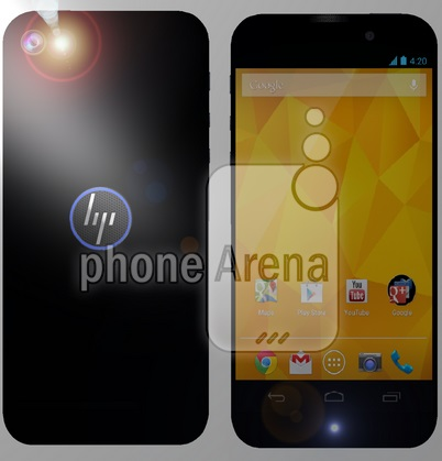 Smartphone Android HP