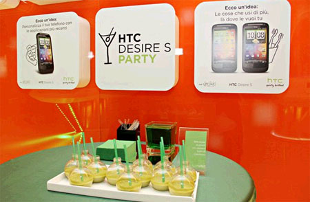 HTC Desire Party Foto 2