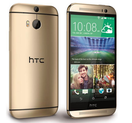 HTC One M8 Oro