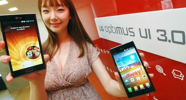 LG Optimus UI 30