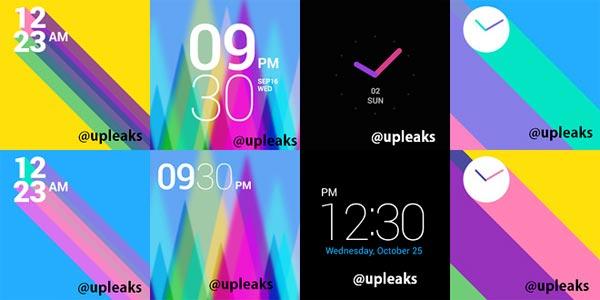 LG G Watch screen