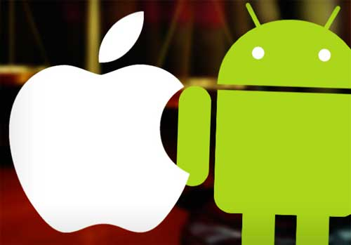 Apple Android loghi