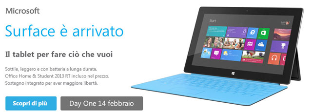 Microsoft Surface One DAY
