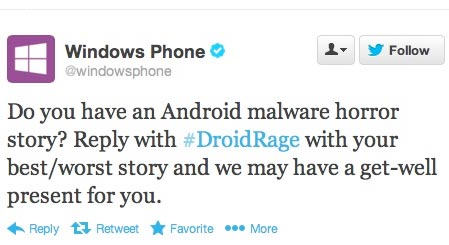 Windows Phone DroidRage