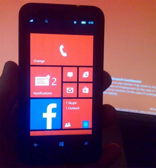 Windows Phone 8.1 centro notifica
