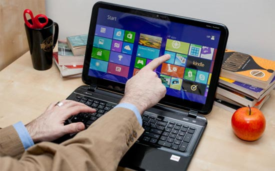 PC touch Windows 8