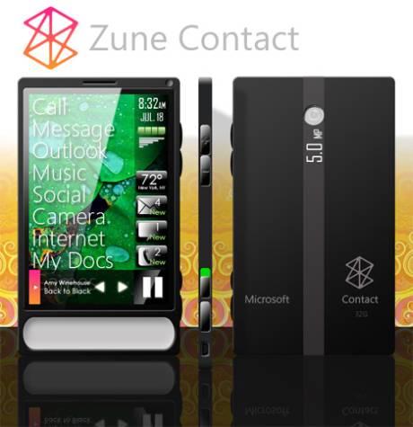 Zune Contact