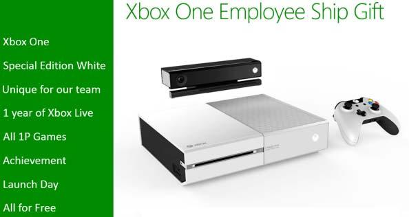 Microsoft Xbox One bianca dipendenti