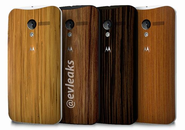 Motorola Moto X cover legno